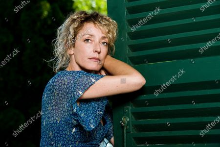 Editorial picture of Juliette Arnaud portrait session, Loire valley, France - 25 Aug 2019