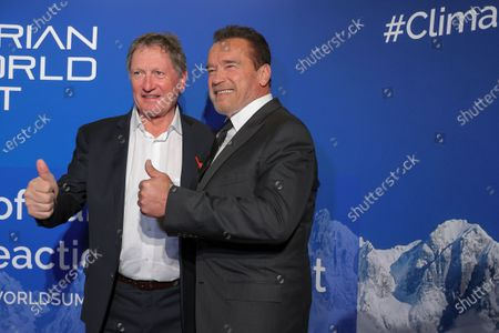 Editorial photo of Charity dinner on climate protection and innovation issue, Kitzbuehel, Austria - 23 Jan 2020