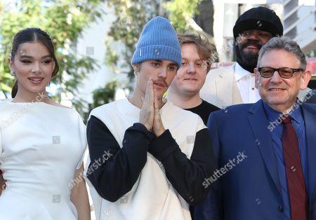 Hailee Steinfeld, Justin Bieber, Lewis Capaldi, Gregory Porter and Sir Lucian Grainge
