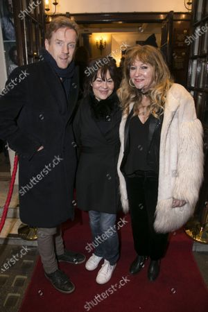Damian Lewis, Helen McCrory and Sonia Friedman (Producer)