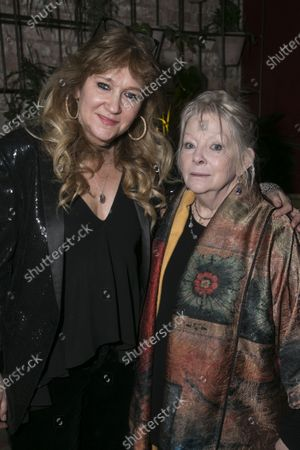 Sonia Friedman (Producer) and Anna Calder-Marshall (Nana)