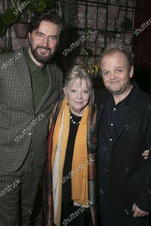 Stock Picture of Richard Armitage (Astrov), Anna Calder-Marshall (Nana) and Toby Jones (Vanya)