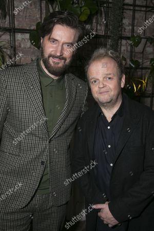 Richard Armitage (Astrov) and Toby Jones (Vanya)