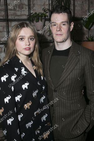 Aimee Lou Wood (Sonya) and Connor Swindells