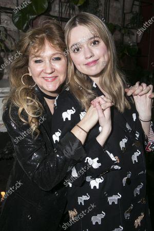 Sonia Friedman (Producer) and Aimee Lou Wood (Sonya)