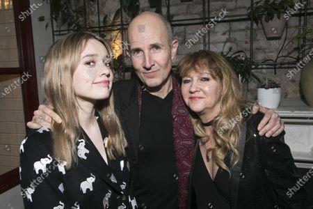Aimee Lou Wood (Sonya), Ian Rickson (Director) and Sonia Friedman (Producer)