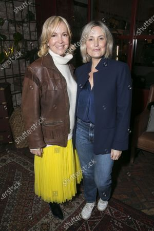 Stock Picture of Sally Greene and Mika Simmons