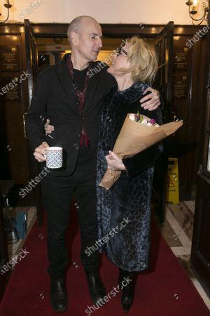 Ian Rickson (Director) and Gillian Anderson