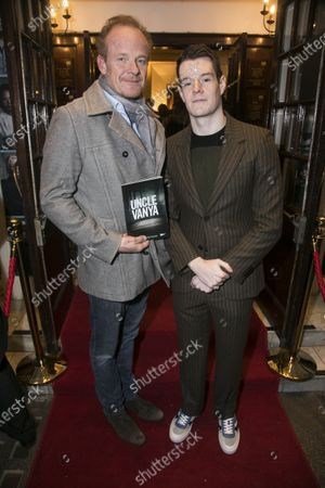 Alistair Petrie and Connor Swindells