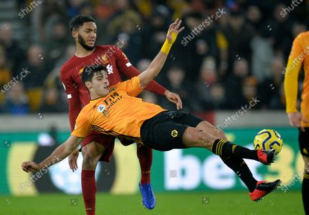 Editorial photo of Wolverhampton Wanderers vs Liverpool, United Kingdom - 23 Jan 2020