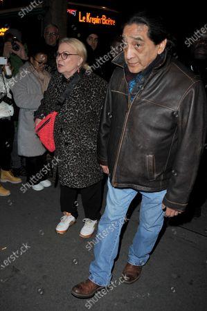 Stock Photo of Josiane Balasko and George Aguilar