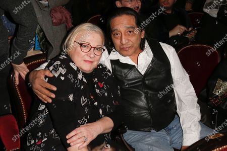 Stock Picture of Josiane Balasko and George Aguilar