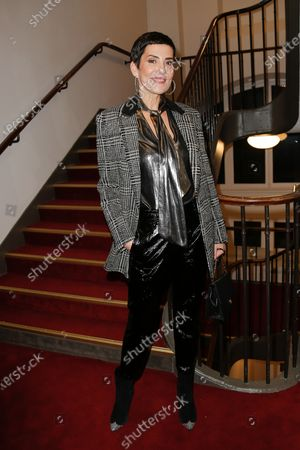 Editorial picture of Jean Paul Gaultier show, Front Row, Spring Summer 2020, Haute Couture Fashion Week, Paris, France - 22 Jan 2020