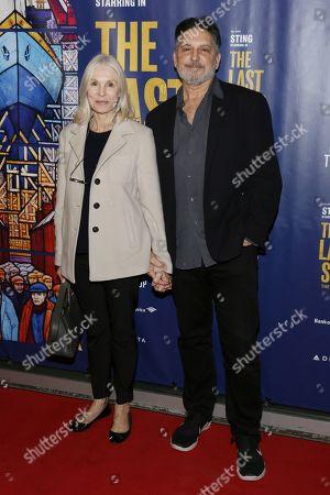 Editorial photo of 'The Last Ship' musical, Arrivals, Ahmanson Theatre, Los Angeles, USA - 22 Jan 2020