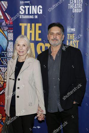 Victoria Tennant and Kirk Stambler