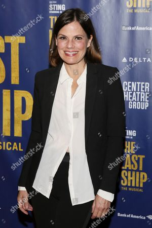Editorial picture of 'The Last Ship' musical, Arrivals, Ahmanson Theatre, Los Angeles, USA - 22 Jan 2020