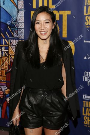 Editorial image of 'The Last Ship' musical, Arrivals, Ahmanson Theatre, Los Angeles, USA - 22 Jan 2020