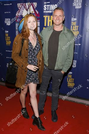 Editorial photo of 'The Last Ship' musical, Arrivals, Ahmanson Theatre, Los Angeles, USA - 22 Jan 2020
