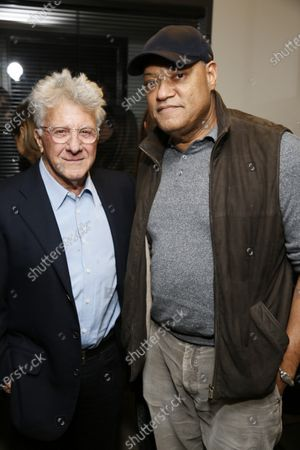 Dustin Hoffman and Laurence Fishburne