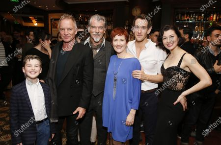 Editorial picture of 'The Last Ship' musical, After Party, Ahmanson Theatre, Los Angeles, USA - 22 Jan 2020