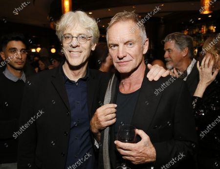 Stock Photo of Stewart Copeland and Sting