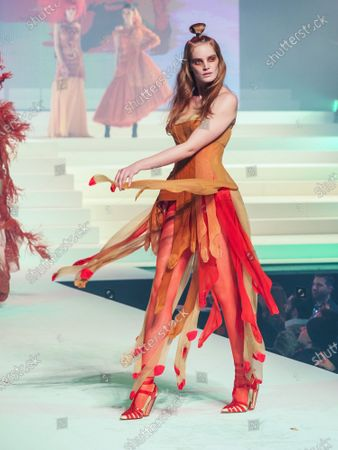 Editorial photo of Jean Paul Gaultier show, Runway, Spring Summer 2020, Haute Couture Fashion Week, Paris, France - 22 Jan 2020