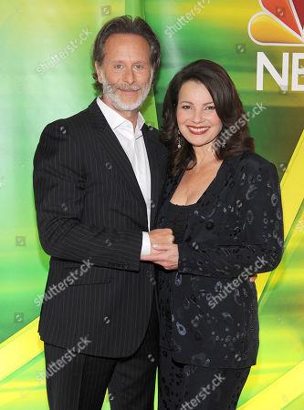 Steven Weber and Fran Drescher