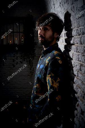 Editorial picture of David Otero portrait session, Madrid, Spain - 23 Jan 2020
