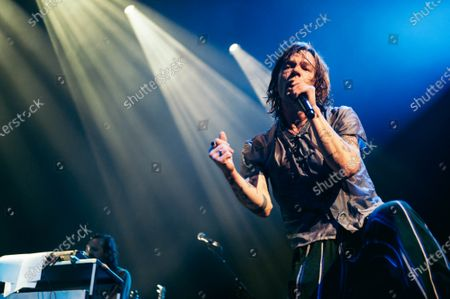 Editorial photo of Cage The Elephant in concert, The Moody Theater, Austin, Texas - 22 Jan 2020
