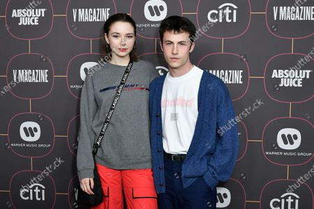 Lydia Night and Dylan Minnette