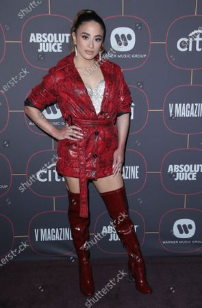 Editorial photo of Warner Music's Pre-Grammys Party, Arrivals, Hollywood Athletic Club, Los Angeles, USA - 23 Jan 2020
