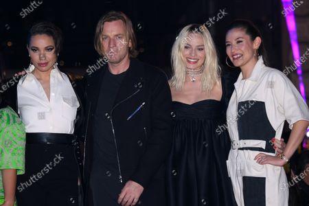 Stock Image of Jurnee Smollett-Bell, Ewan McGregor, Margot Robbie and Christina Hodson