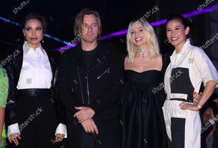 Stock Picture of Jurnee Smollett-Bell, Ewan McGregor, Margot Robbie and Christina Hodson