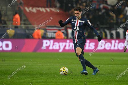 Editorial picture of Stade Reims v Paris Saint-Germain, Coupe de La Ligue, Semi-Final, Football, Stade Auguste-Delaune II, Remis, France - 22 Jan 2020