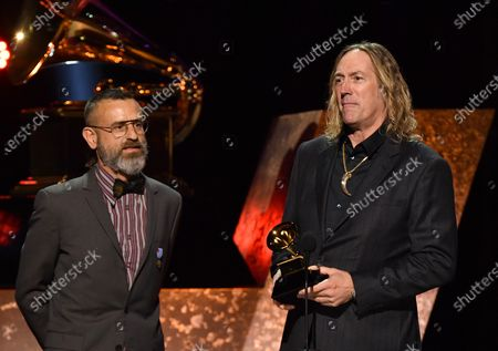 Justin Chancellor and Danny Carey of Tool - Best Metal Performance - 7empest