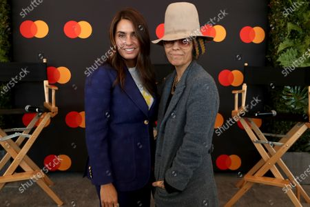 Emily Lazar and Linda Perry