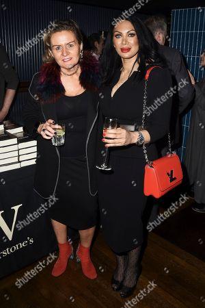 Kimberley Chambers and Janine Nerissa