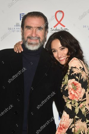 Stock Photo of Eric Cantona and Rachida Brakni