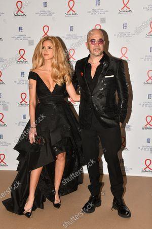 Julie Hantson and Pascal Obispo