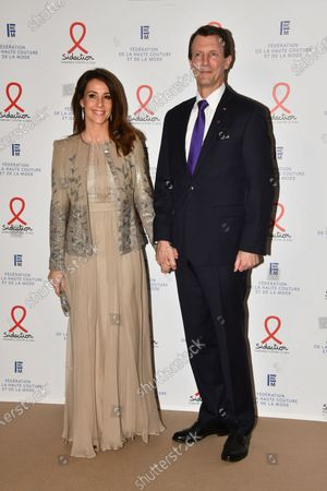 Stock Picture of Princess Marie of Denmark and Prince Joachim of Denmark