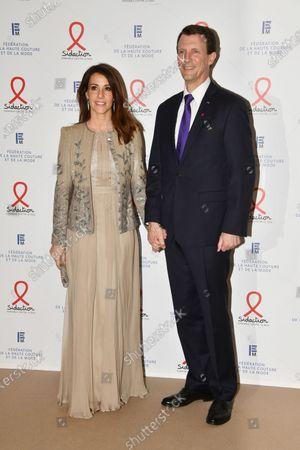 Stock Image of Princess Marie of Danemark and Prince Joachim of Danemark