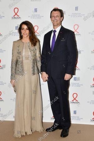 Princess Marie of Danemark and Prince Joachim of Danemark