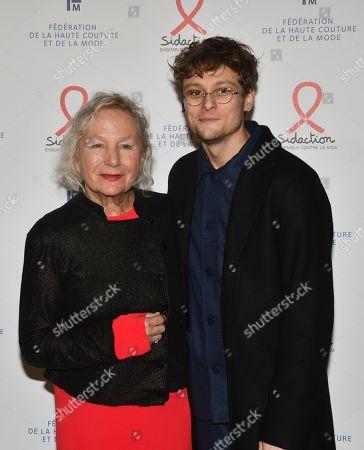 Stock Photo of Agnes B. and Rod Paradot