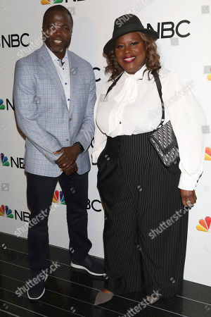 Retta, Reno Wilson. Retta, left, and Reno Wilson attend the NBC midseason 2020 press day party hosted by NBC and The Cinema Society at the Rainbow Room Gallery Bar, in New York