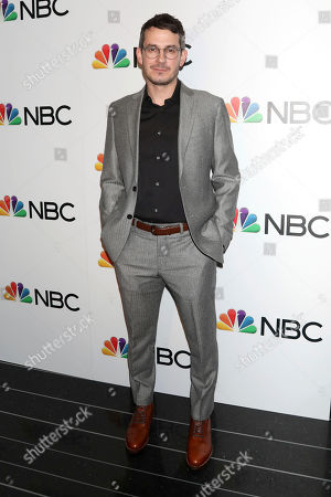 Tate Ellington attends the NBC midseason 2020 press day party hosted by NBC and The Cinema Society at the Rainbow Room Gallery Bar, in New York