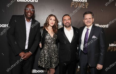 Editorial picture of Billboard Annual Power event, Arrivals, Los Angeles, USA - 23 Jan 2020