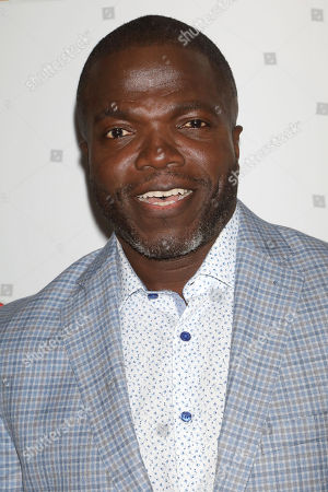 Reno Wilson attends the NBC midseason 2020 press day party hosted by NBC and The Cinema Society at the Rainbow Room Gallery Bar, in New York