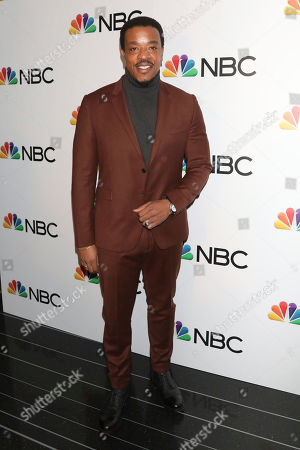 Russell Hornsby attends the NBC midseason 2020 press day party hosted by NBC and The Cinema Society at the Rainbow Room Gallery Bar, in New York