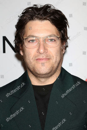 Stock Photo of Adam Pally attends the NBC midseason 2020 press day party hosted by NBC and The Cinema Society at the Rainbow Room Gallery Bar, in New York