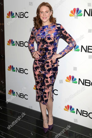 Christiane Seidel attends the NBC midseason 2020 press day party hosted by NBC and The Cinema Society at the Rainbow Room Gallery Bar, in New York